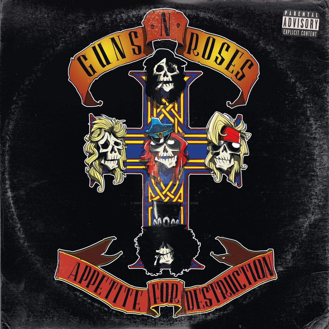 Vandaag (21 juli) 1987: Guns N' Roses brengt Appetite for Destruction uit!